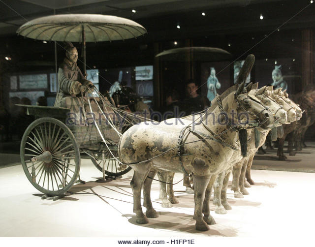 ancient china chariot stock photos ancient china chariot. Black Bedroom Furniture Sets. Home Design Ideas
