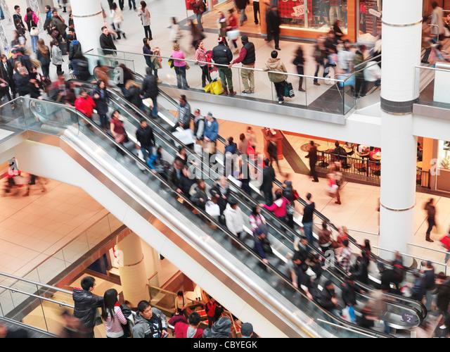 Escalator crowd stock photos escalator crowd stock images alamy - Black friday ikea france ...