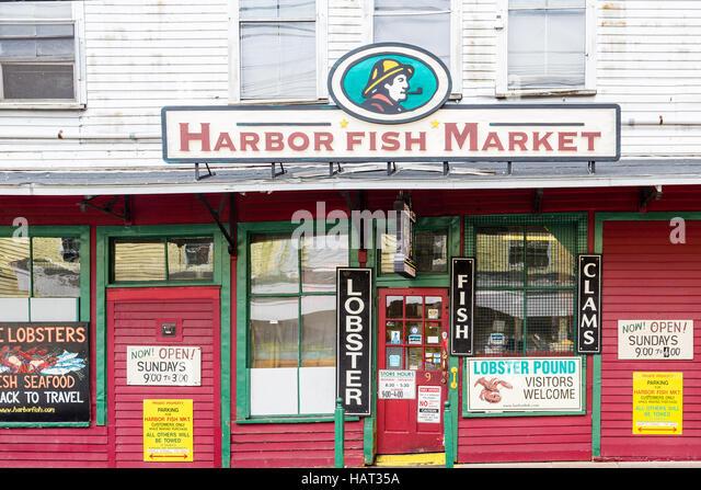 Portland maine lobster stock photos portland maine for Fish market portland maine
