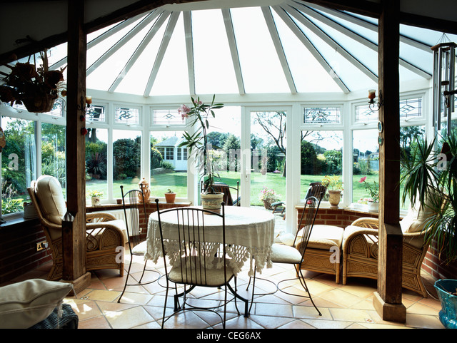 Conservatory Cane Furniture Stock Photos Conservatory Cane Furniture Stock Images Alamy