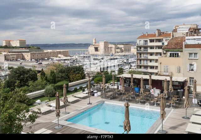 Marseille vieux port culture stock photos marseille - Hotel formule 1 marseille vieux port ...