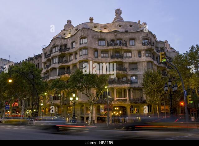 Gaudi Architektur Stock s & Gaudi Architektur Stock