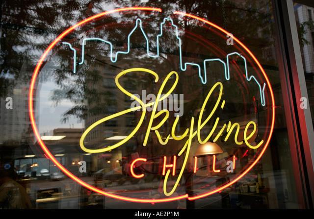 skyline sign neon - photo #34