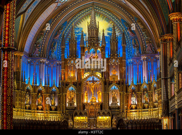 Gothic Revival Interior gothic revival style architecture stock photos & gothic revival