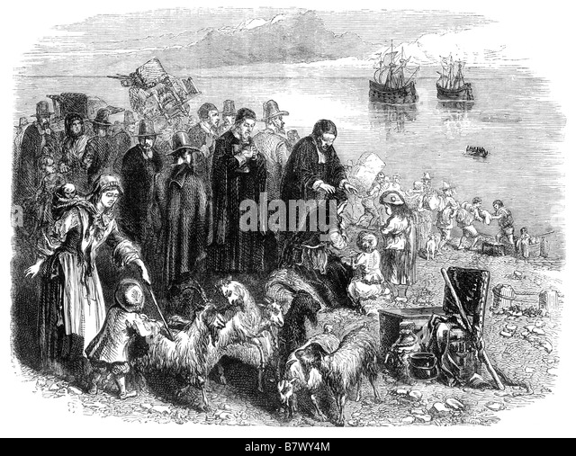 english puritans and their colonization in What's the difference between a pilgrim and a puritan john winthrop led some 1,000 english puritans in the bay colony puritans believed in their god.