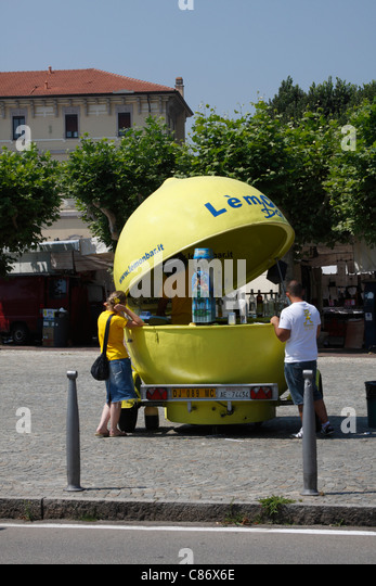 Lemonade stand and man stock photos lemonade stand and for Lemon shaped lemonade stand