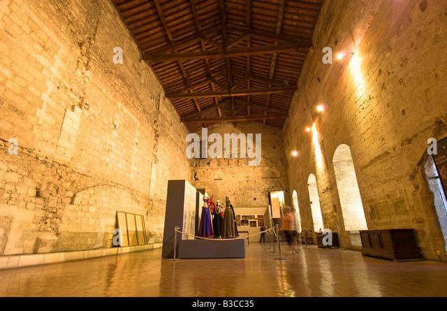 Avignon palais des papes interior stock photos avignon palais des papes interior stock images - Chambre de commerce d avignon ...