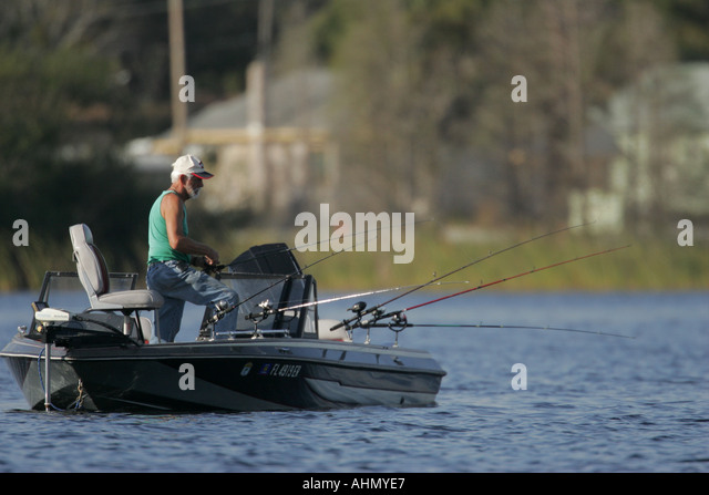 Crappie fishing stock photos crappie fishing stock for Crappie fishing florida