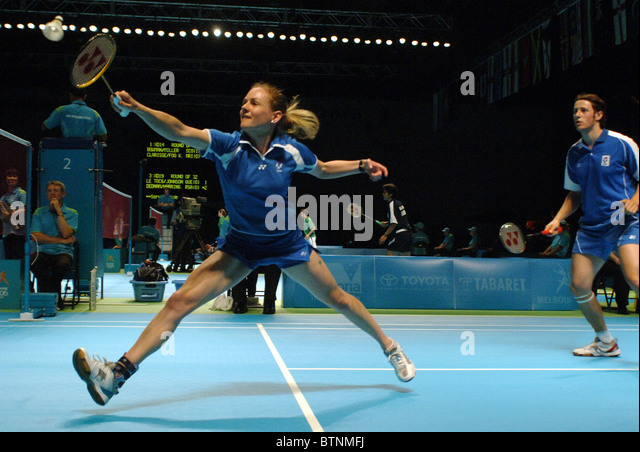 how to play mixed doubles badminton
