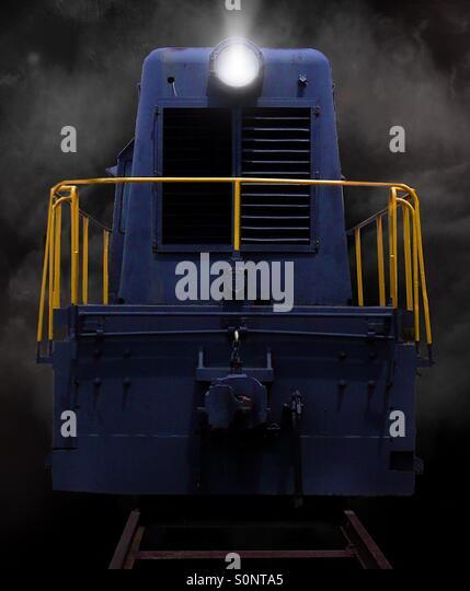 Antique Train Headlight : Antique engine stock photos images