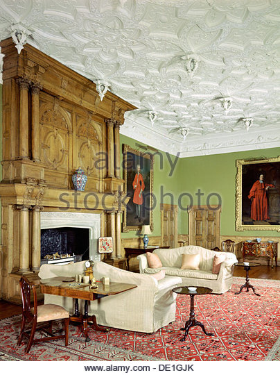 Salon With Fireplace Stock Photos & Salon With Fireplace ...