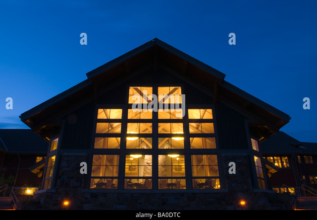 The Mount Magazine Lodge At Mount Magazine State Park In The Ozark Mountains  Of Logan County