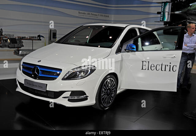 Mercedes b class electric drive stock photos mercedes b for Class b electric motor
