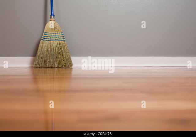 Hardwood Floor Broom whats fun cheap good looking and cleans a hardwood floor with an advanced search and navigation algorithm Corn Broom On A Hardwood Floor Stock Image