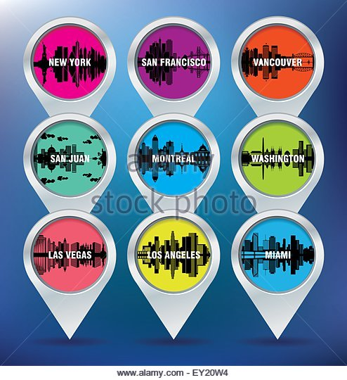 Los Angeles Stock Vector Images Alamy - Los angeles map vector