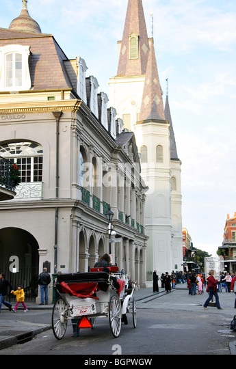 New Orleans French Quarter Carriage Stock Photos Amp New