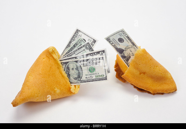 how to make a fortune cookie with money