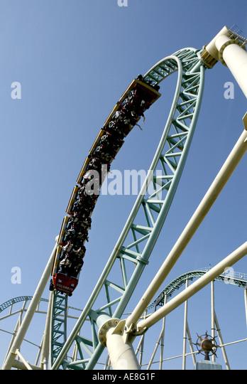 Thorpe Park Rollercoaster Stock Photos Amp Thorpe Park