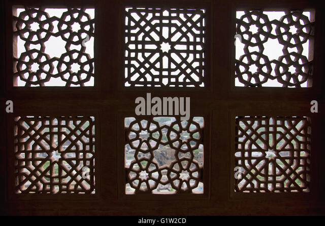 Wall Jali Design : Jali stock photos images alamy