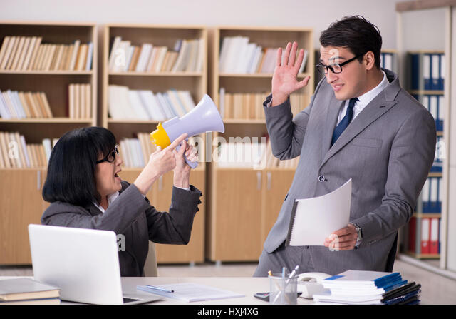 Angry Boss Stock Photos & Angry Boss Stock Images - Alamy