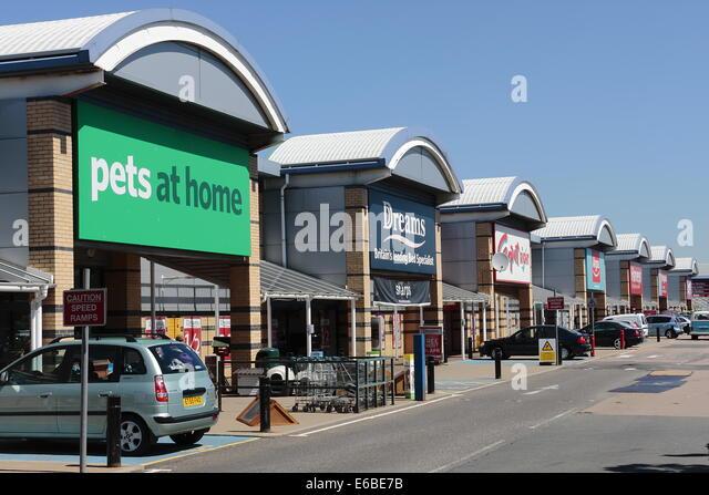 Retail Park Stock Photos Amp Retail Park Stock Images Alamy