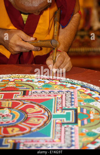 Mandala Market Gardens The Layout: Tibetan Buddhist Mandala Stock Photos & Tibetan Buddhist