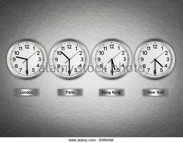 Business World Clocks Stock Photos Business World Clocks Stock
