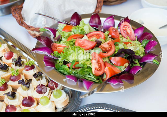 Wedding Reception Table Cheese Meat Stock Photos & Wedding ...