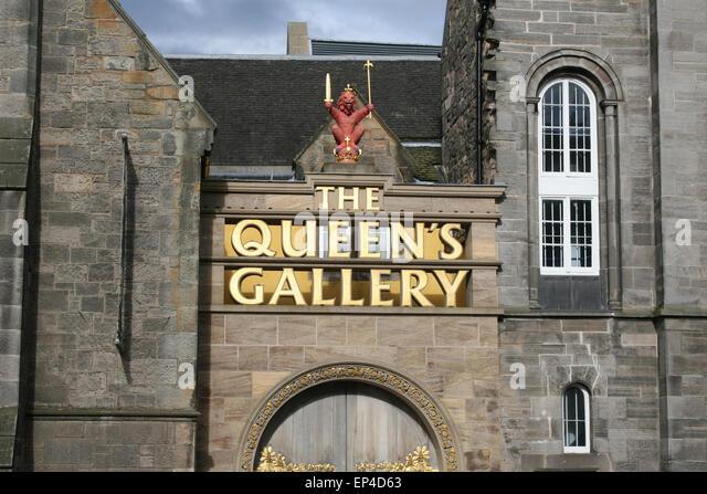 Queens Queens Gallery Edinburgh Stock Photos & Queens ...