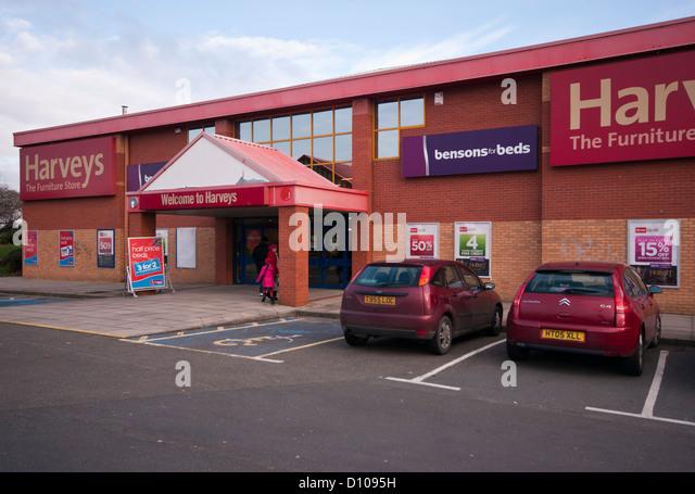 Harveys Furniture Superstore UK   Stock Image