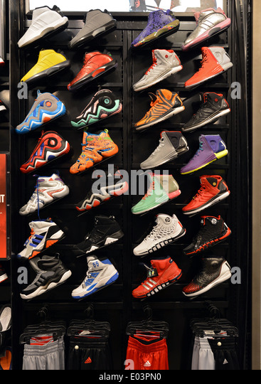 Athletic Shoe Store Stock Photos Athletic Shoe Store