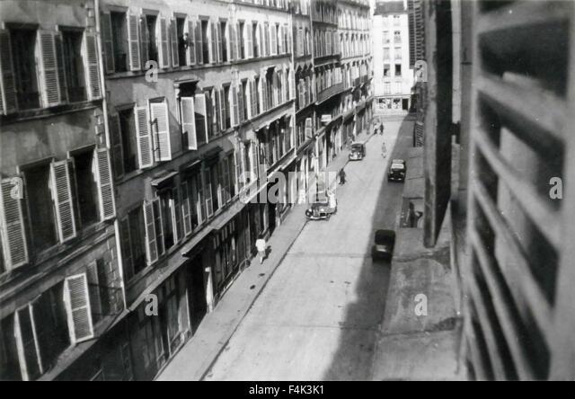 Paris 1940 stock photos paris 1940 stock images alamy - Rue des beaux arts ...