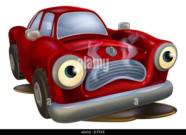 Cartoon Car Auto Repair Garage Stock Photos Amp Cartoon Car
