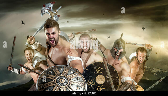 Ancient Rome Gladiators Battle Stock Photos & Ancient Rome ...