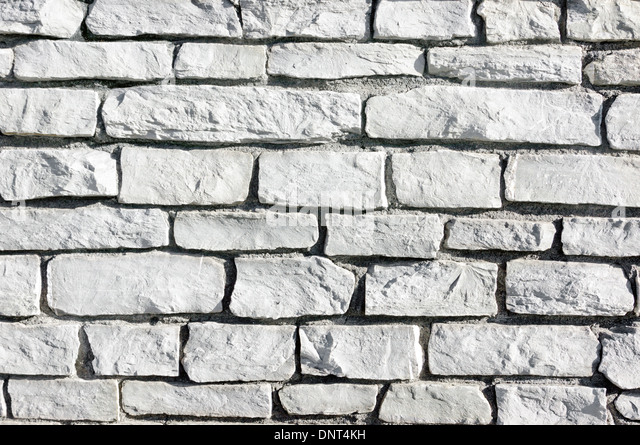 Background Of Textured Gray Bricks On A Wall