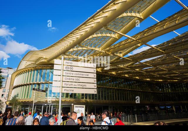 Forum des halles stock photos forum des halles stock images alamy - Forum des halles paris ...