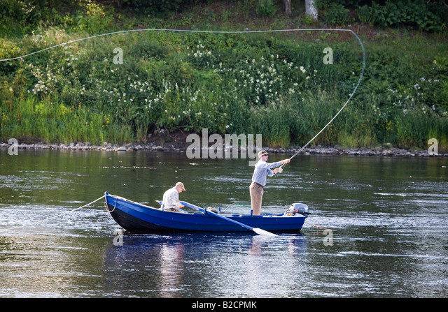River tay boat stock photos river tay boat stock images for River fishing pole