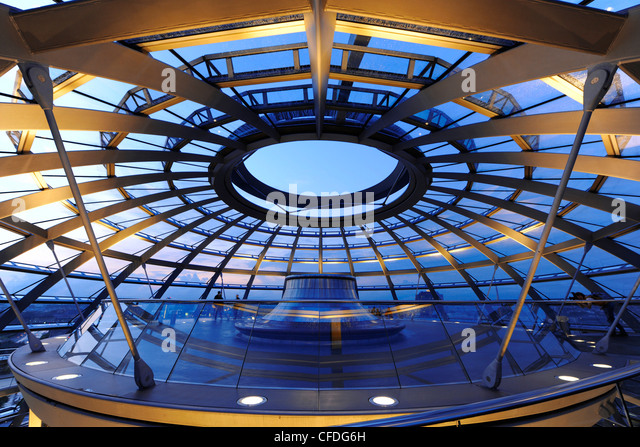 View From Reichstag Dome