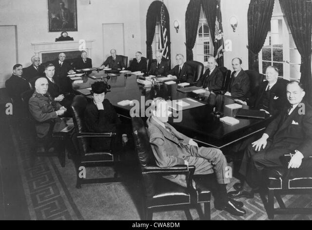 Roosevelt Cabinet Stock Photos & Roosevelt Cabinet Stock Images ...