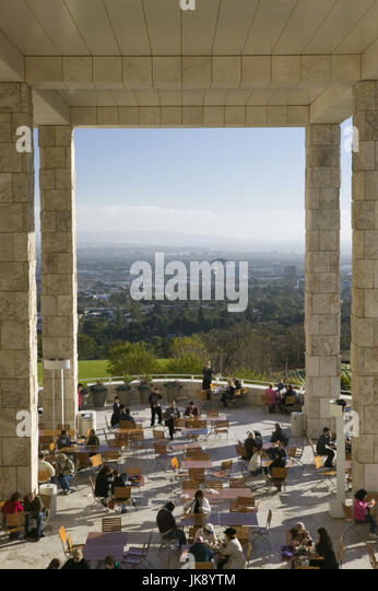 USA, Kalifornien, Los Angeles, Brentwood, J. Paul Getty Center, Cafe