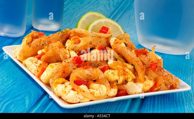 Ackee and saltfish stock photos ackee and saltfish stock for Jamaican salt fish