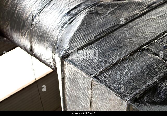 Industrial Ventilation Book : Ventilation system stock photos