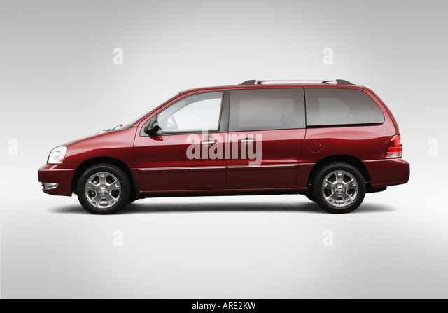 2006 Ford Freestar Limited In Red