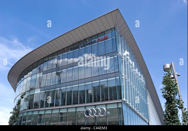 Audi Showroom Stock Photos Amp Audi Showroom Stock Images Alamy
