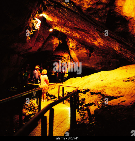 Man Caves Northern Ireland : Marble arch caves stock photos