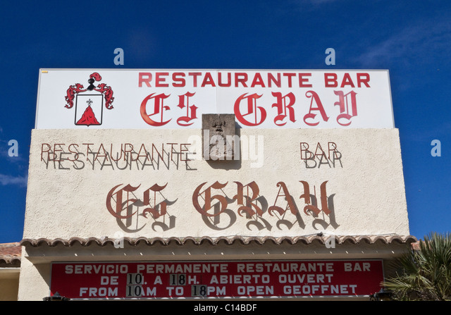 Restaurant Es Grau Estellencs Menu