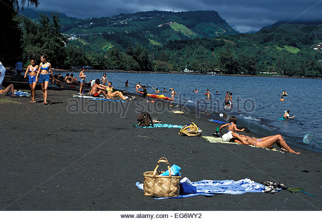 Tahiti Beach Stock Photos & Tahiti Beach Stock Images - Alamy
