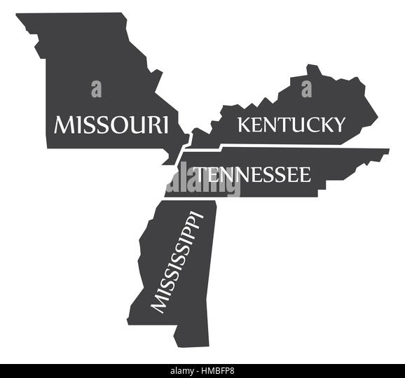 Mississippi Map Stock Photos Mississippi Map Stock Images Alamy