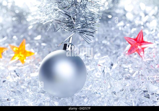 Ice crystal ball stock photos ice crystal ball stock for Crystal baubles christmas