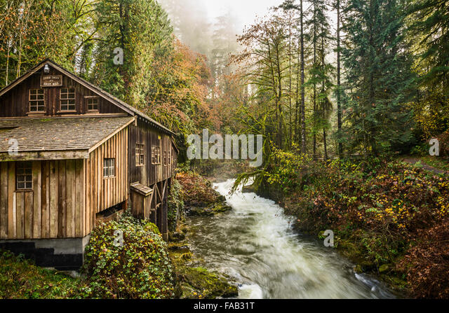 Cedar creek grist mill in stock photos cedar creek grist for The cedar mill